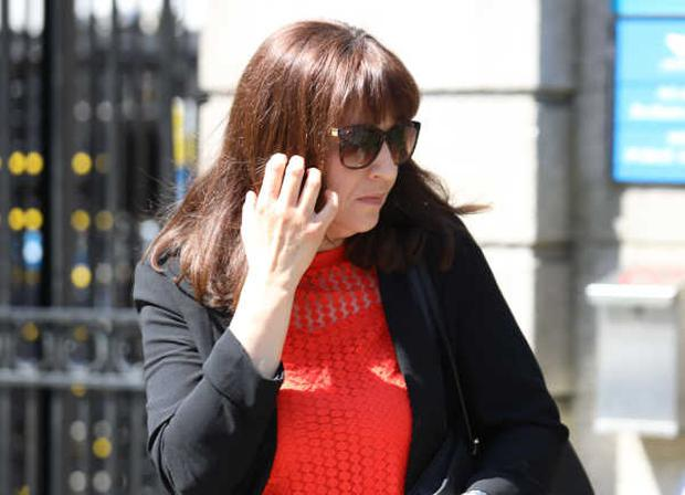 Allison Ryan pictured leaving the Four Courts Photo: Collins
