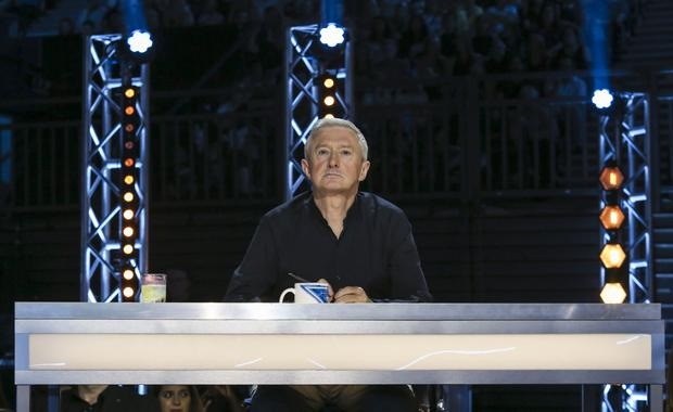 Louis Walsh during filming of the show in 2017 (Tom Dymond/Syco/Thames)