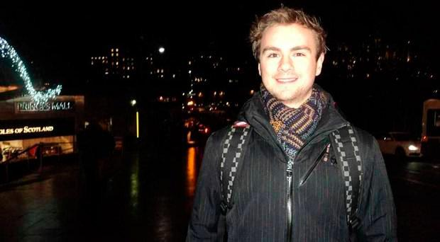 Adam Clark died after falling off the roof of his apartment building in China. Credit: Clark family.