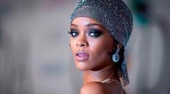 Pop star Rihanna. Photo: REUTERS/Carlo Allegri