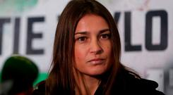 Katie Taylor said she had had little contact with her father. Photo: PA