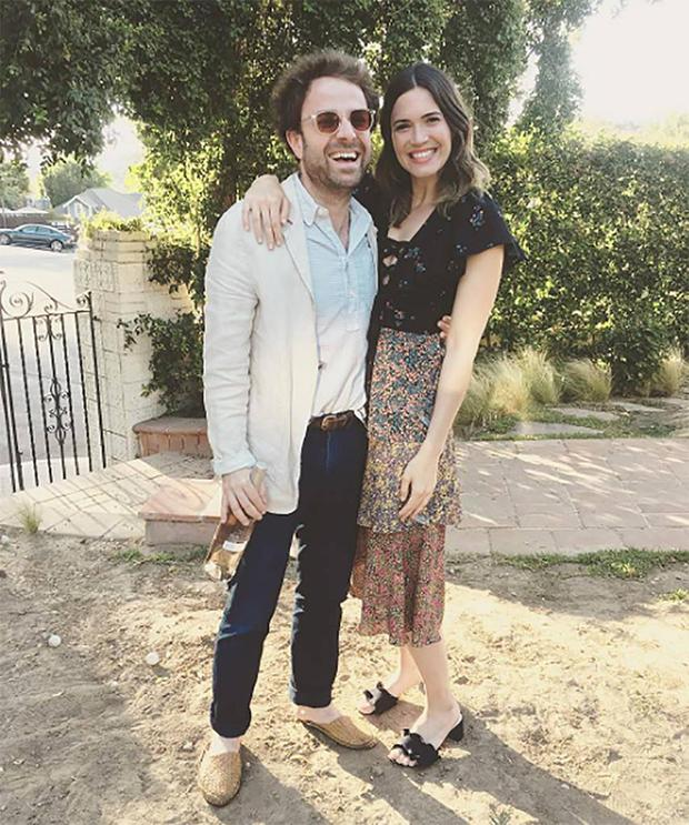 Mandy Moore and fiancé Taylor Goldsmith. Picture: Instagram