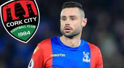 Damien Delaney is back with Cork City