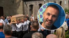 The funeral mass of Bobby Messett took place in Wicklow on Friday