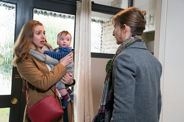Seána Kerslake and Norma Sheahan in Can't Cope Won't Cope, RTE