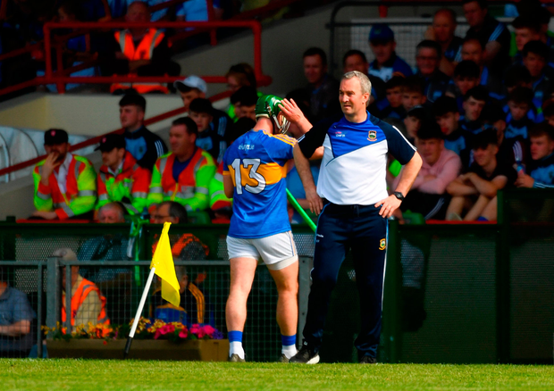 Tipperary boss Michael Ryan knows he has no room for error in Thurles tomorrow. Photo by Piaras Ó Mídheach/Sportsfile