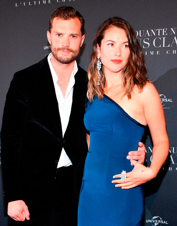 Jamie Dornan and his wife Amelia Warner