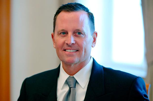 US ambassador Richard Grenell who backed European right-wingers' xenophobia. Photo: Reuters