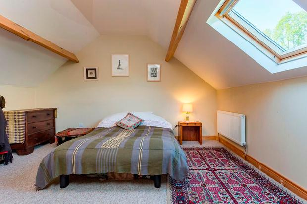 One of the bedrooms at Mill Cottage