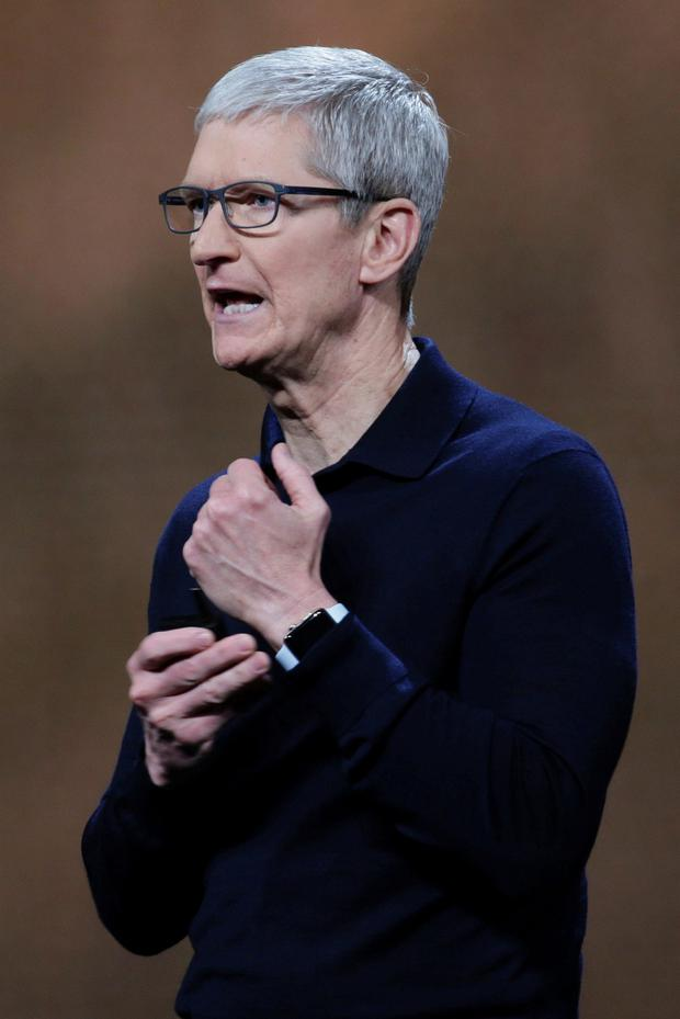 Apple CEO Tim Cook. Photo: Elijah Nouvelage