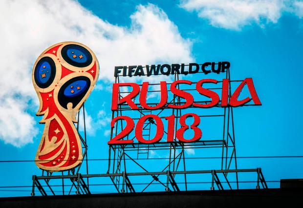 'The sheer brazenness of Fifa's decision to stage a World Cup in a country that has invaded and occupied another country are powerful arguments to boycott the circus.' Photo: Getty Images