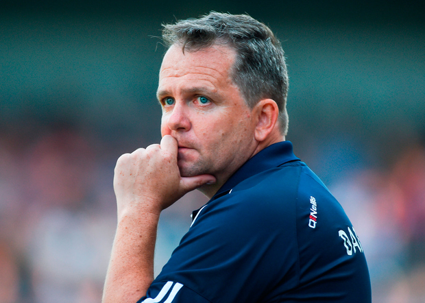 Davy Fitzgerald must be hugely frustrated. Photo: Sportsfile