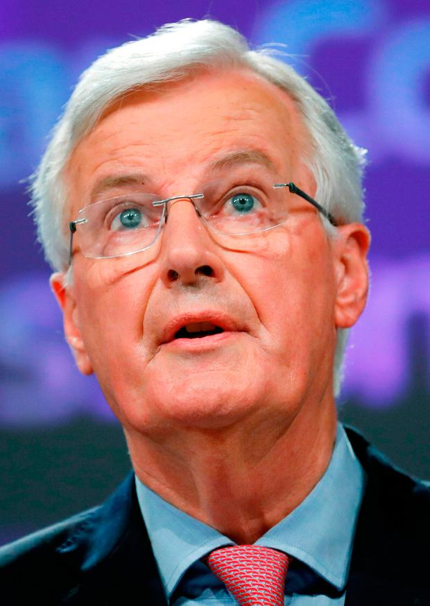 BORDER PATROL: European Union negotiator Michel Barnier turned against suggestions of a UK-wide backstop. Photo: Francois Leno/Reuters