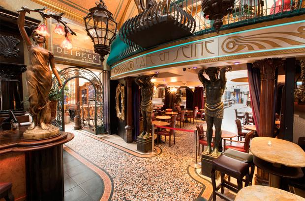 EVERYTHING MUST GO: The contents of Dublin's Cafe en Seine