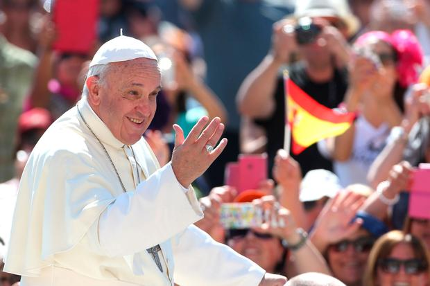 NO SURPRISES: Details of Pope Francis's two-day visit to Ireland at the end of August will be announced tomorrow. Photo: Getty Images