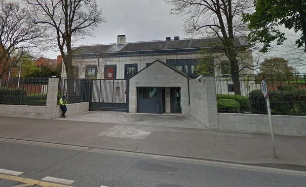 The British Embassy on Merrion Road. Photo: Google Maps