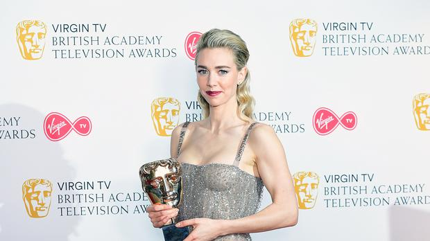 Vanessa Kirby has said meeting Princess Margaret was 'enough' of an honour after she won a Bafta for playing her (Ian West/PA)