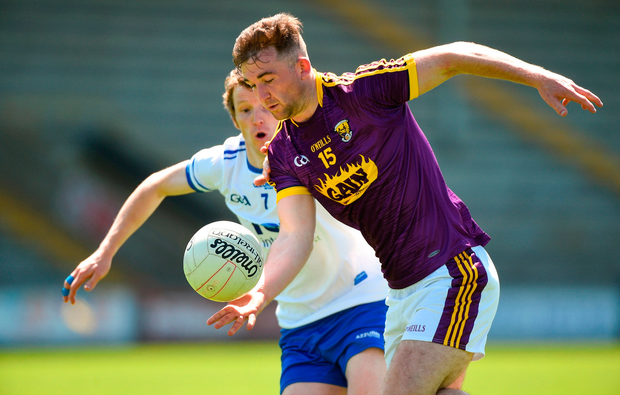 John Tubritt of Wexford in action. Photo by Matt Browne/Sportsfile