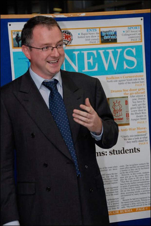 Dr Brian Gormley: Students more willing now to share