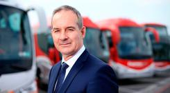 'Almost impossible' timetable: Bus Éireann chief Ray Hernan. Picture: Gerry Mooney