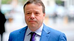 Arron Banks says the accusations are a 'convenient witch-hunt'. Picture: PA