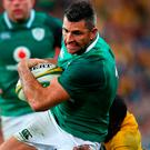 Kearney's drop had put Ireland on the back foot. Photo by Jono Searle/Getty Images