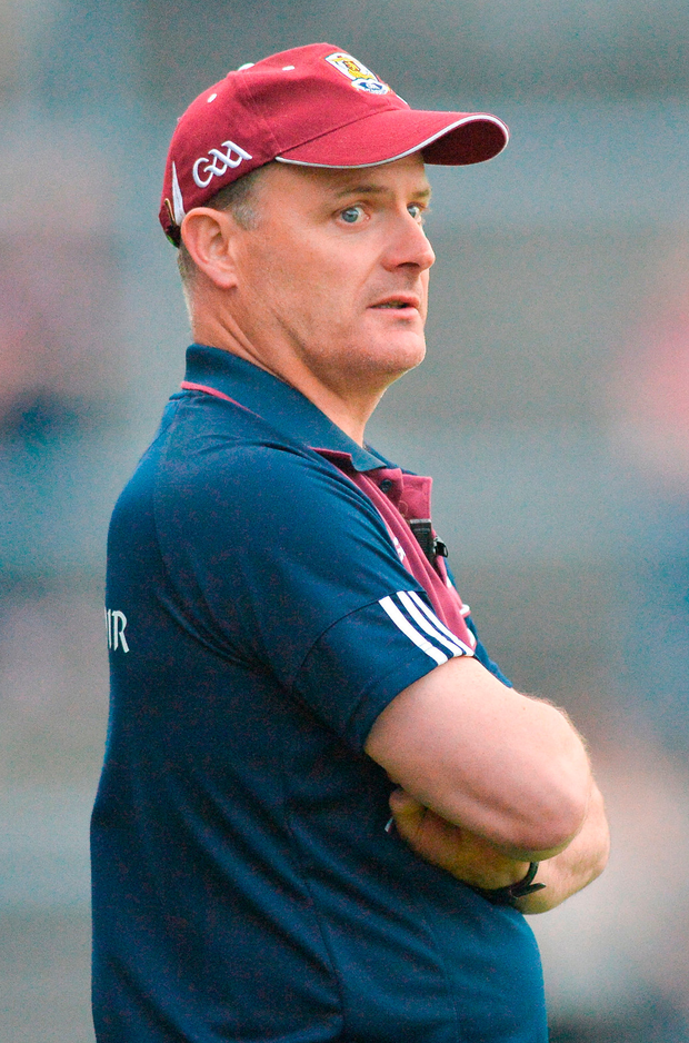 Galway manager Micheal Donoghue. Photo: Sportsfile