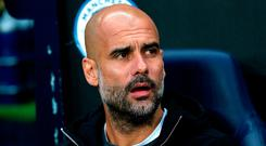 Guardiola also refuted suggestions he could be tempted to return to Barcelona as manager one day. Photo credit: Tim Goode/PA Wire