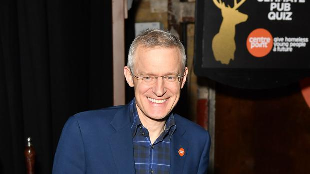 Jeremy Vine said he was proud to be the new host of Channel 5's daily current affairs show (Dominic Lipinski/PA)