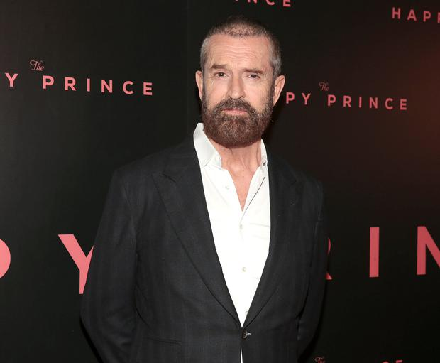 Rupert Everett at the Irish Premiere of The Happy Prince at the Stella Cinema in Rathmines, Dublin. Pic Brian McEvoy