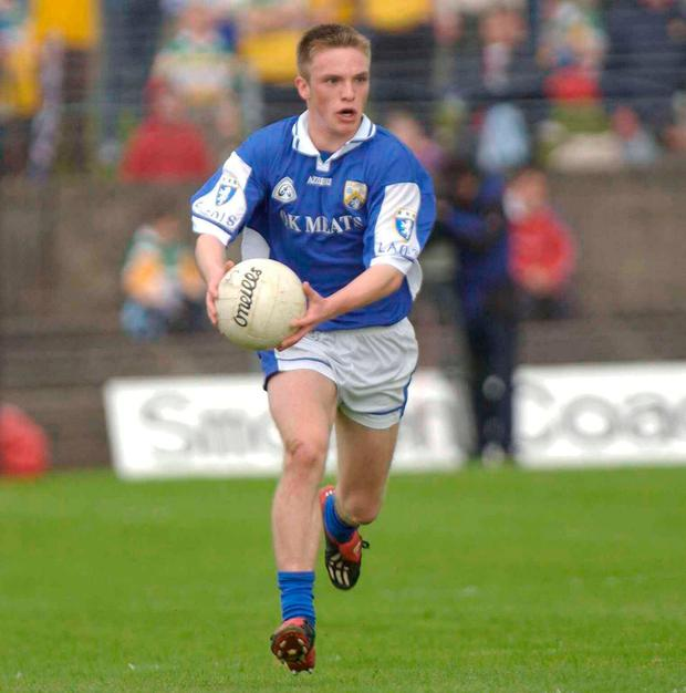 Ross Munnelly in action for the county in 2003. Photo: SPORTSFILE