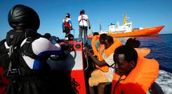 SOS Mediterranée's Aquarius has been one the vessels at the heart of the mission to rescue refugees. Photo: Reuters