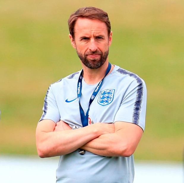Gareth Southgate will be away from prying eyes. Photo: Mike Egerton/PA Wire