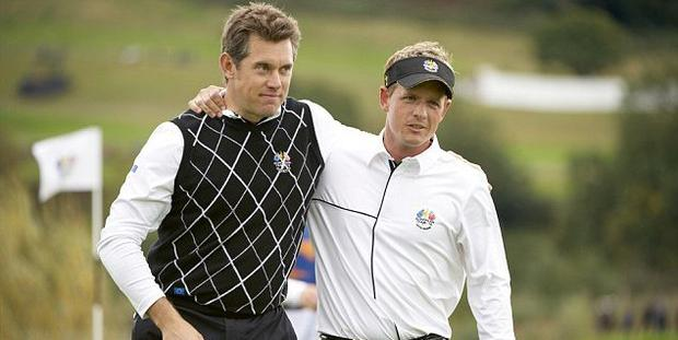 Lee Westwood and Luke Donald