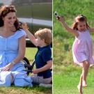 Kate Middleton enjoys a sweet family day out with Prince George and Princess Charlotte