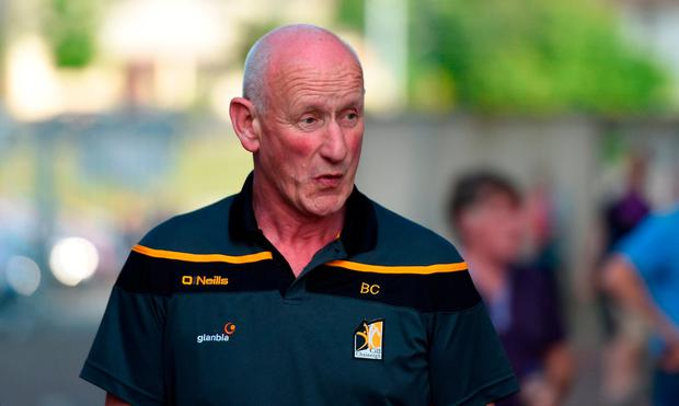 Kilkenny manager Brian Cody arrives at the ground ahead of the Leinster GAA Hurling Senior Championship Round 5 match between Kilkenny and Wexford at Nowlan Park in Kilkenny. Photo by Daire Brennan/Sportsfile