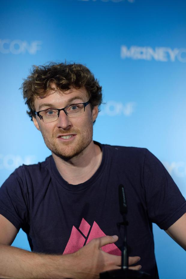 Paddy Cosgrave at MoneyConf. Photo: Adrian Weckler