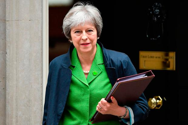 British Prime Minister Theresa May. Photo: Chris J Ratcliffe/Getty Images