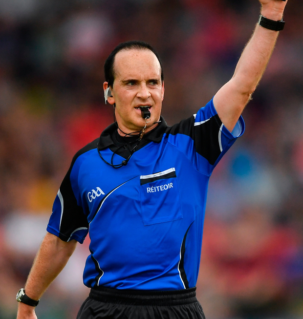 Referee David Coldrick. Photo: Sportsfile