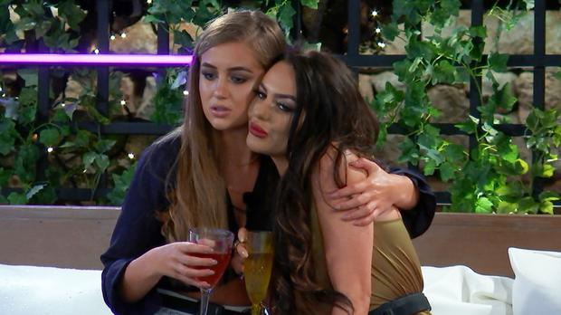 Drama on Love Island as surprise recoupling looms amid rifts (ITV)