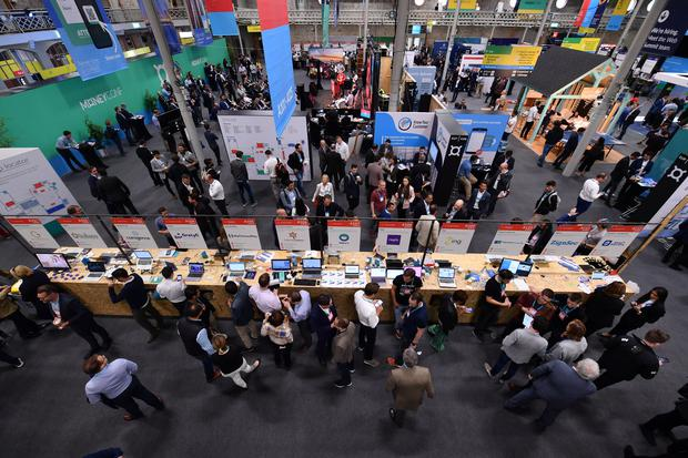 Attendees at MoneyConf in the RDS. Photo: Diarmuid Greene/MoneyConf via Sportsfile