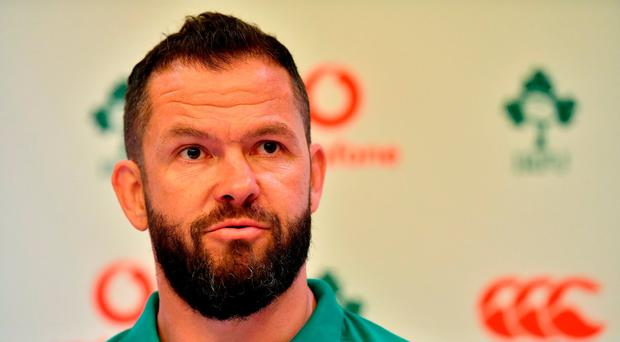 Andy Farrell is Plan B for Ulster as wait for Dan McFarland goes on