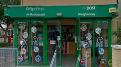 There was a robbery at Maugheraboy Post Office yesterday Photo: Google Maps