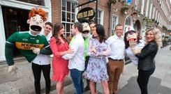 12/6/2018.The cast of Copper Face Jacks the Musical officially launch the the all-singing, all-dancing puppet based musical extravaganza before it opens at the Olympia Theatre this summer from 5 July. Photo: Leon Farrell/Photocall Ireland.