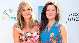 Pippa Casey and Isabella O'Keefe at the June Polo In The Park in aid of Irish Motor Neurone Disease Association at the Phoenix Park ,Dublin. Picture: Brian McEvoy