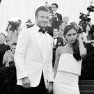 David Beckham and Victoria Beckham attend the