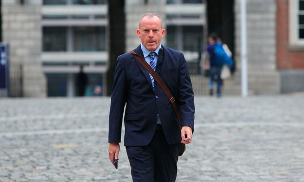 Ian Mallon at the Disclosures Tribunal in Dublin CastleDublin. Photo: Gareth Chaney Collins