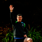 Jonathan Sexton during Ireland rugby squad training at St Kevin's College in Melbourne