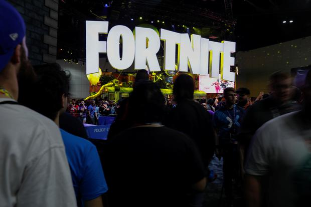 The Fortnite booth is shown at E3, the world's largest video game industry convention in Los Angeles, California, U.S. June 12, 2018. REUTERS/Mike Blake