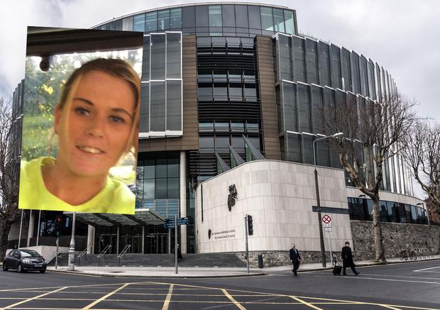 The Criminal Courts of Justice and inset, Christina Joyce